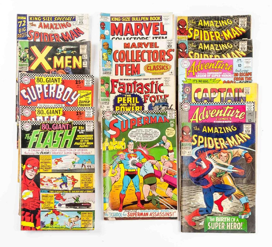 15 DC Comic Books incl Superman & The Flash - 3