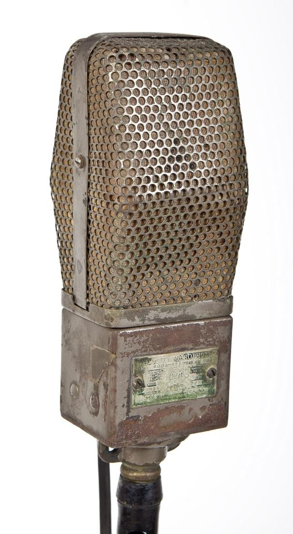 RCA PB90A2 Microphone on Cast Iron Stand - 3