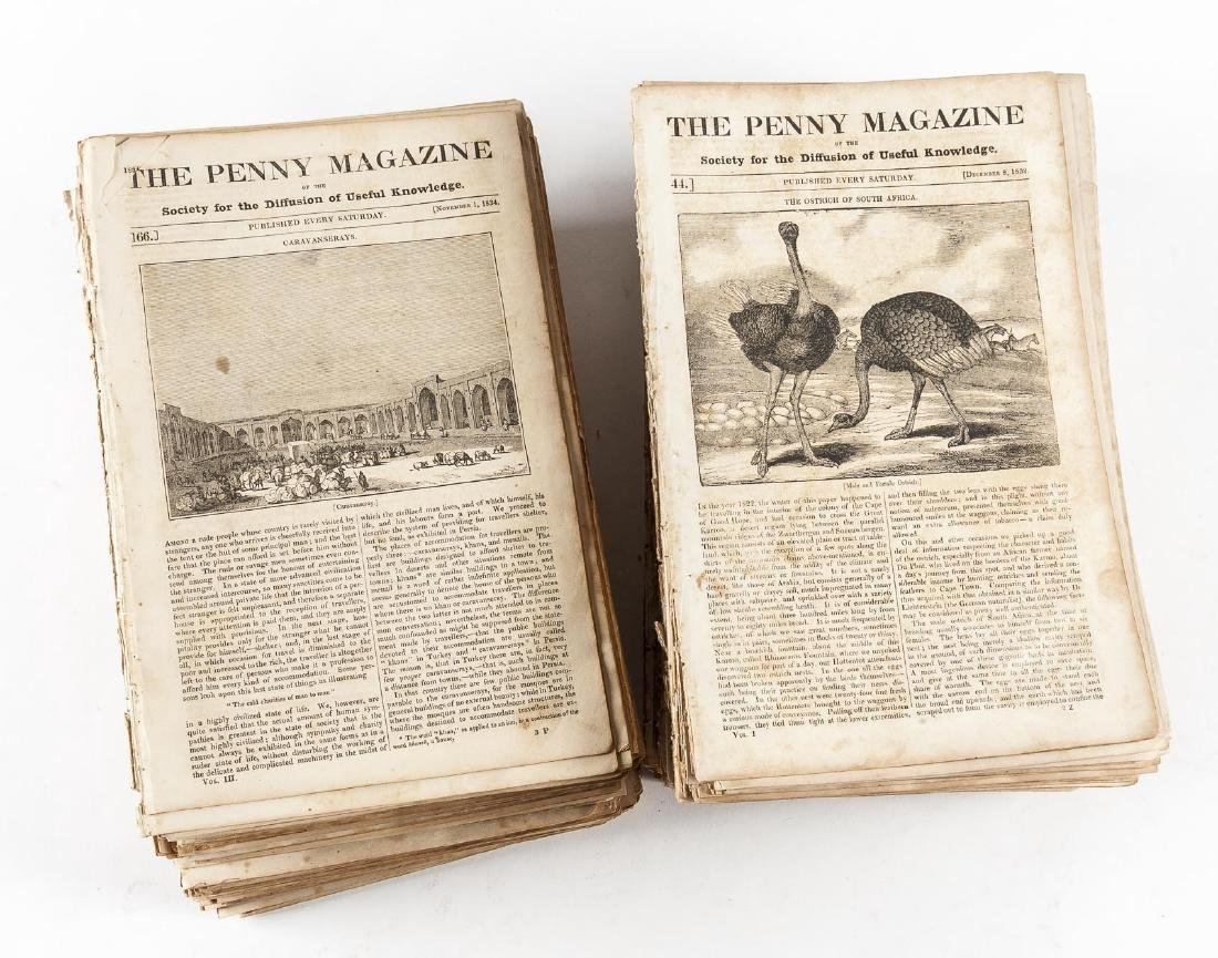 432 Issues of The Penny Magazine 1832-1839