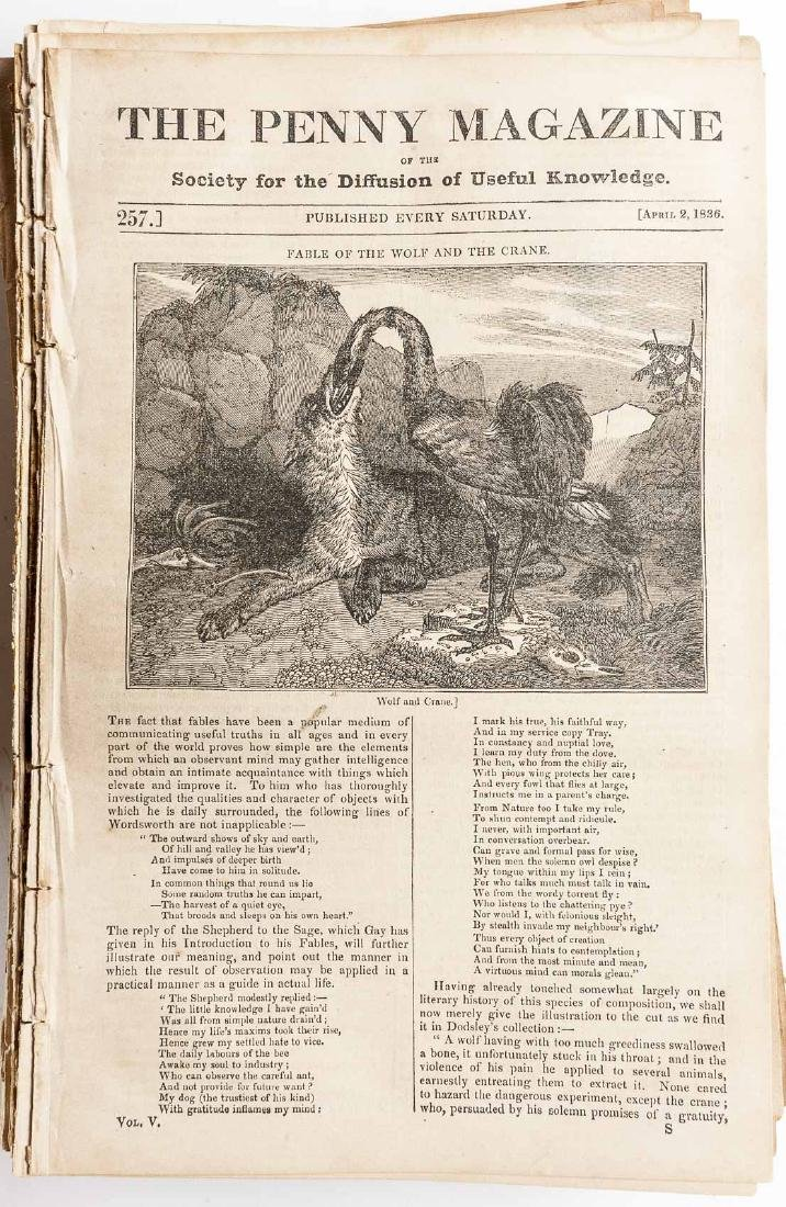 432 Issues of The Penny Magazine 1832-1839 - 2
