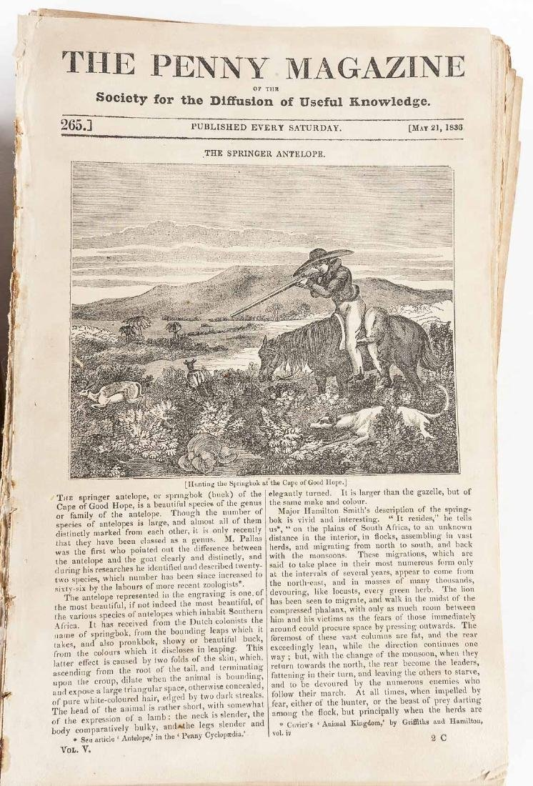 432 Issues of The Penny Magazine 1832-1839 - 3