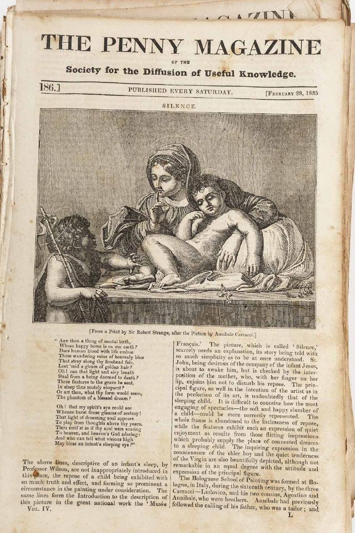 432 Issues of The Penny Magazine 1832-1839 - 6