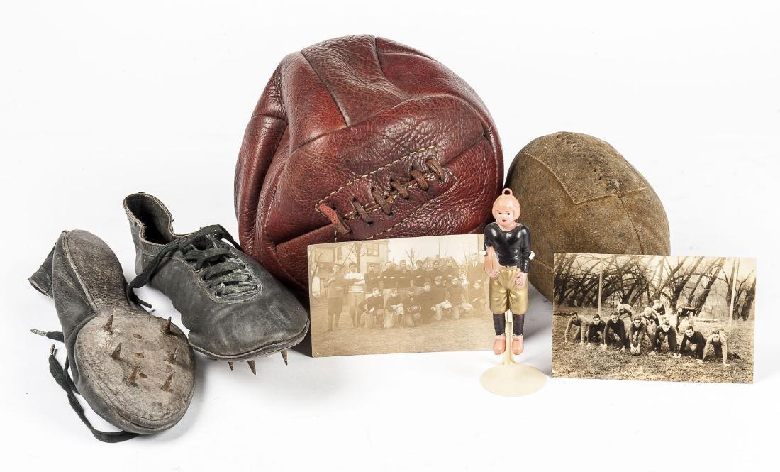 6 Pcs Sports Memorabilia C 1910-1940's