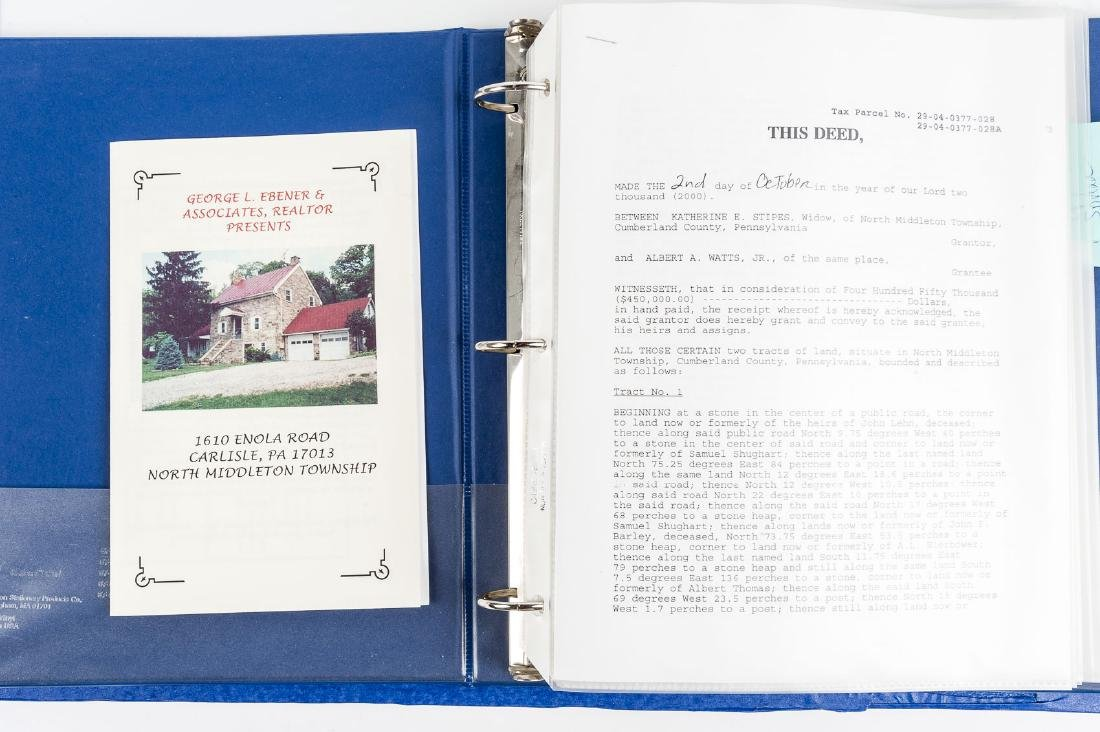 Deed History of Stipes Farm, Carlisle PA 1795-2000 - 10