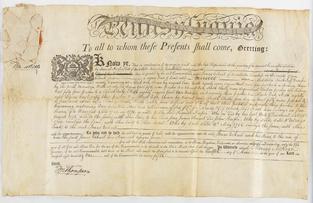 Deed History of Stipes Farm, Carlisle PA 1795-2000 - 4