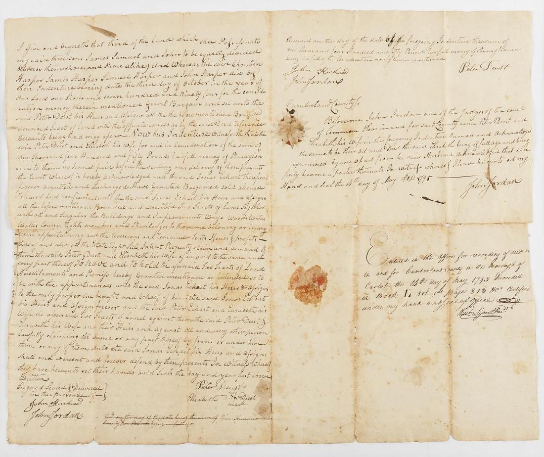 Deed History of Stipes Farm, Carlisle PA 1795-2000 - 6
