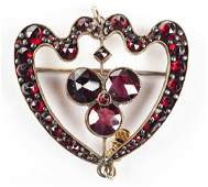 Victorian Garnet Pin/Pendant