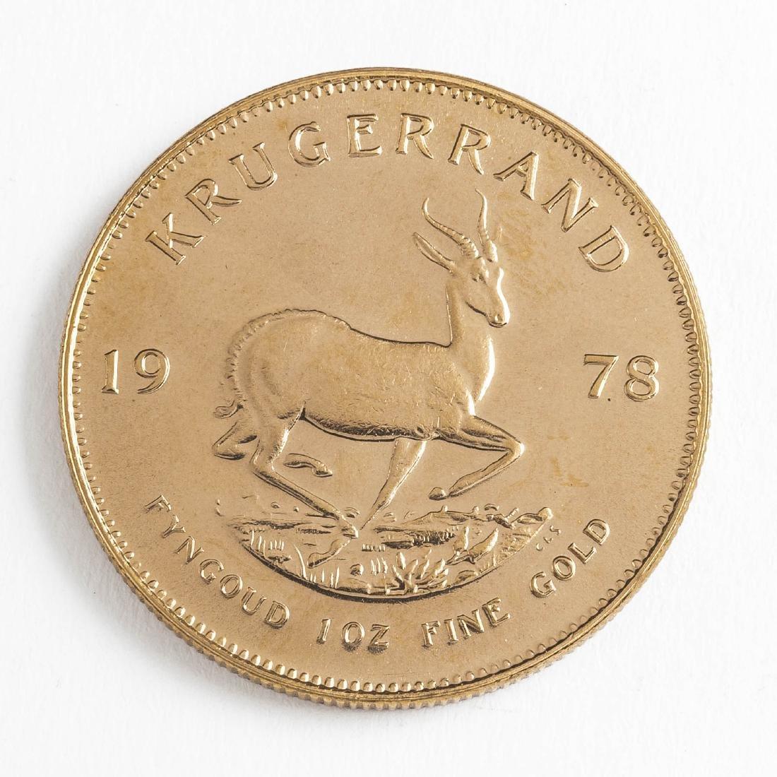 1978 1 Ounce Gold Krugerrand - 2