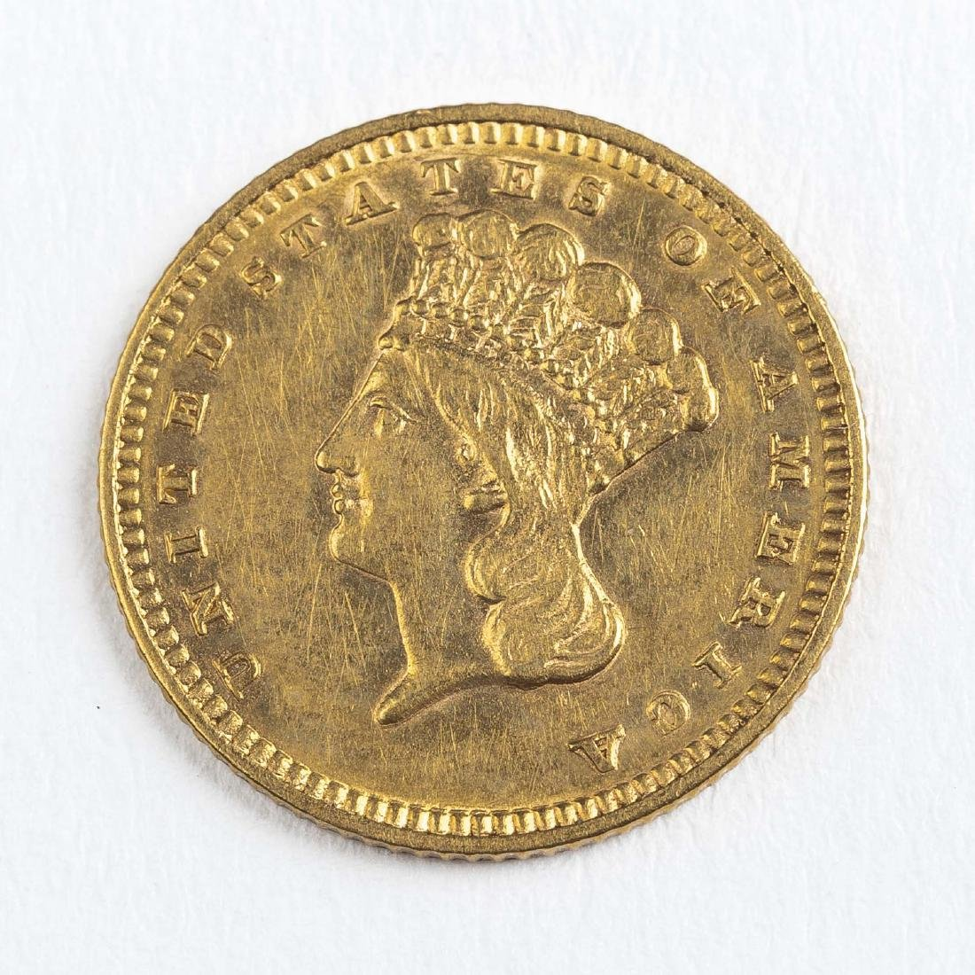 1887 Type III Gold Dollar