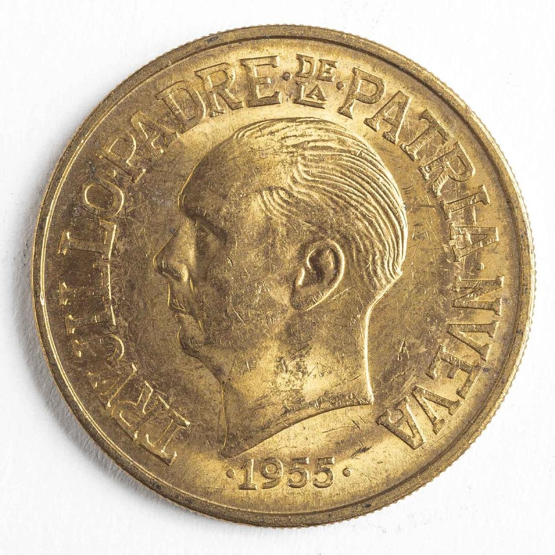 1955 30 Pesos Dominican Gold Coin