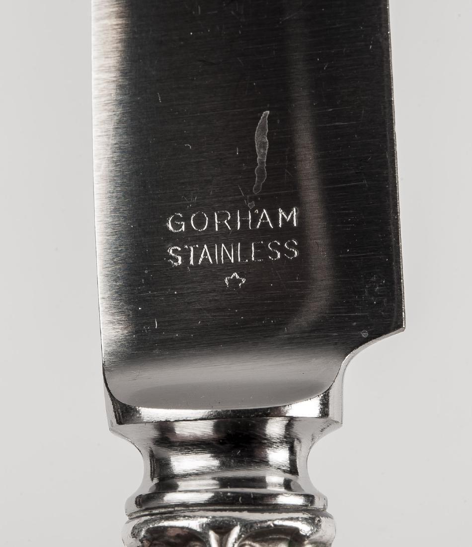 78 Pcs Gorham Chantilly Sterling Flatware - 6
