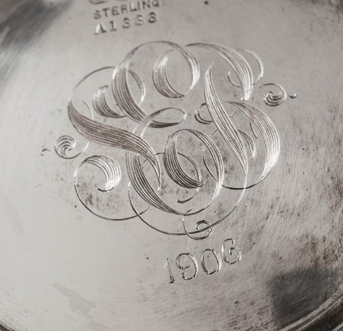 5 Pc Gorham Repousse Sterling Tea Set - 4