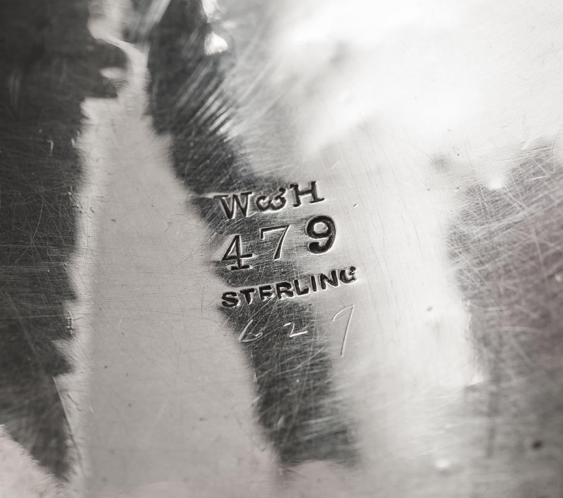 3 Sterling Napkin Rings Incl Gorham - 5