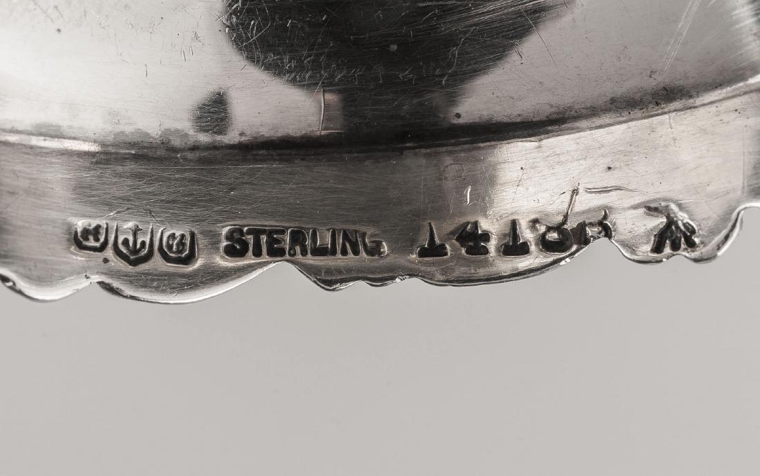 3 Sterling Napkin Rings Incl Gorham - 6