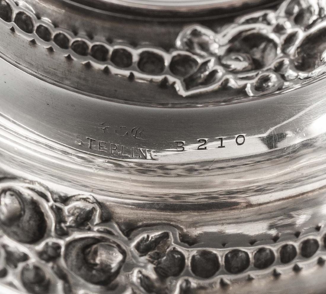 3 Sterling Napkin Rings Incl Gorham - 7