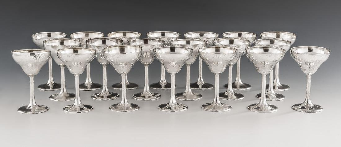 20 Frank W. Smith Silver Co. Sterling Champagnes