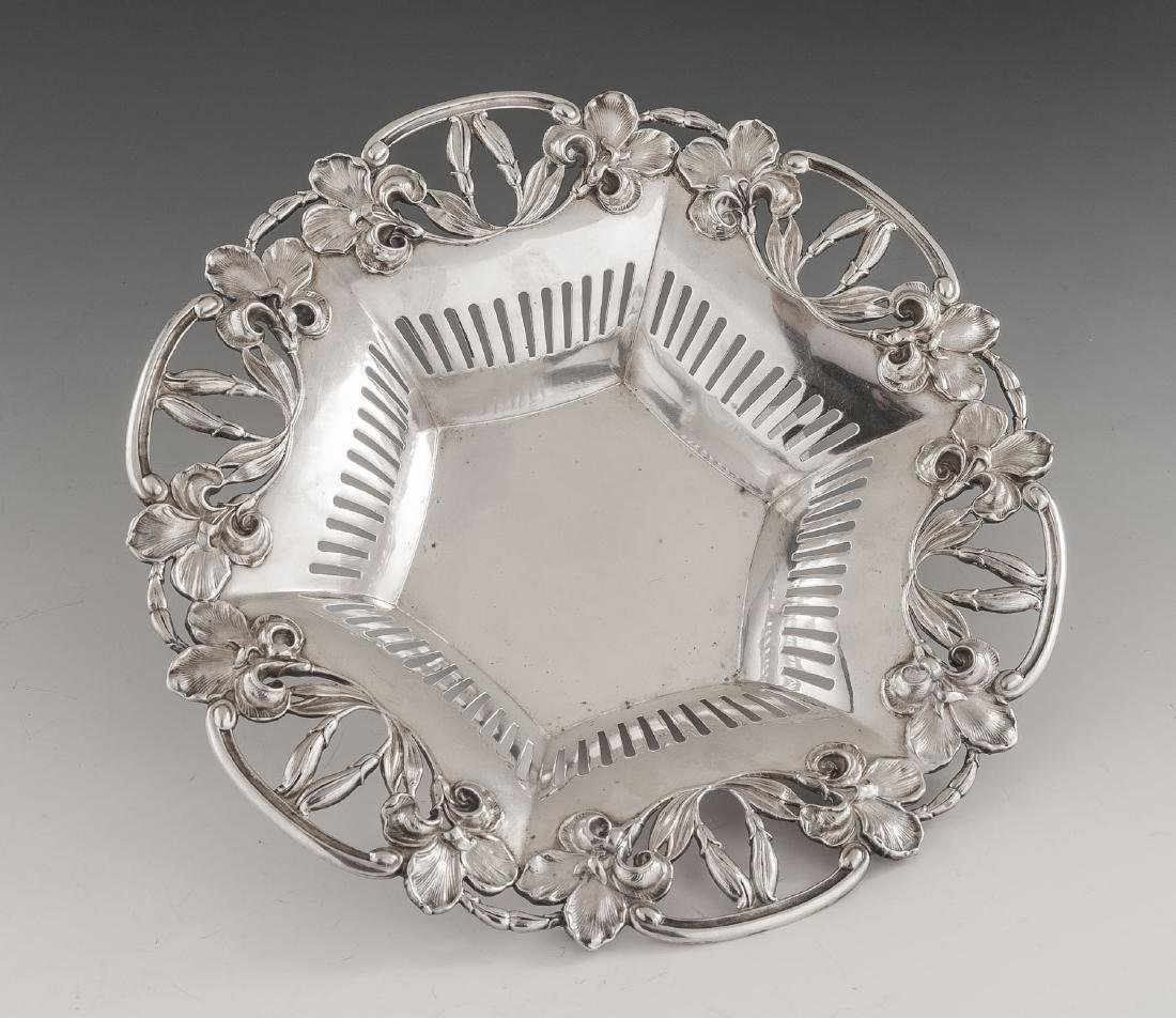 Simons Brothers Sterling Pierced Bowl