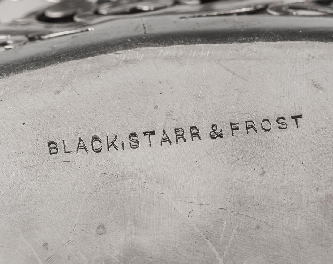Black, Starr, & Frost Sterling Pierced Bowl - 4