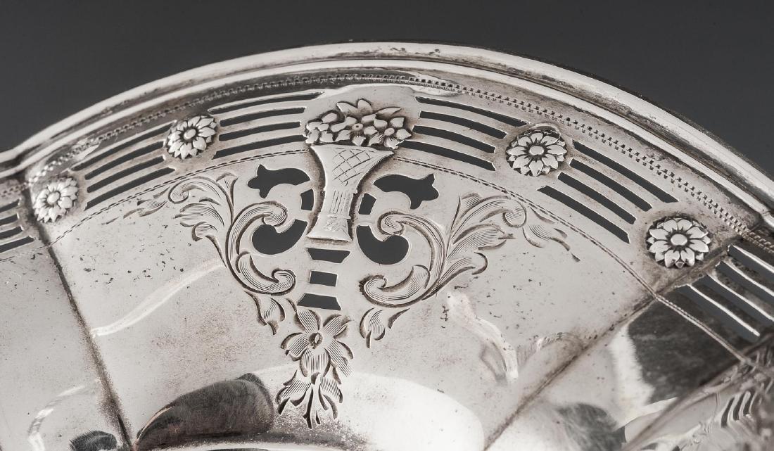 Whiting Sterling Flower Basket - 2