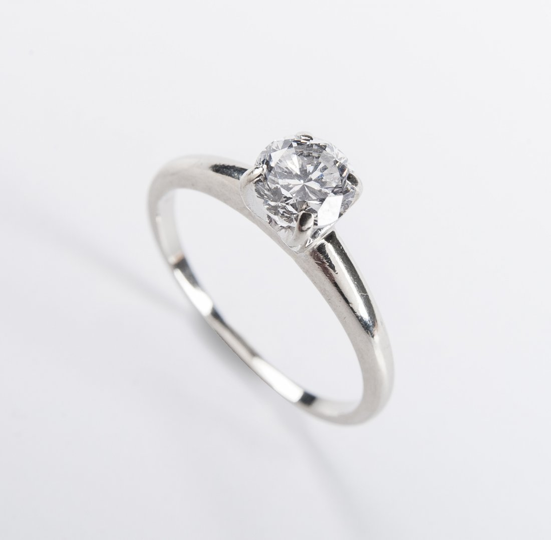 14K .67 Carat Diamond Solitaire Ring