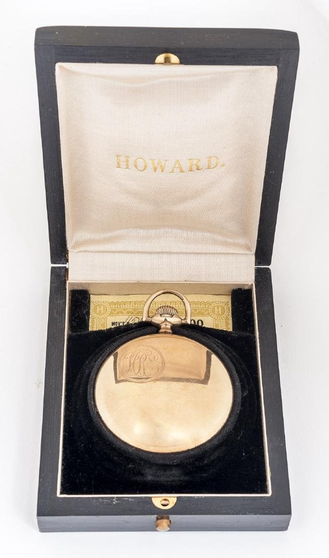 Howard 21J Series 10 Pocket Watch in Orig Box - 5