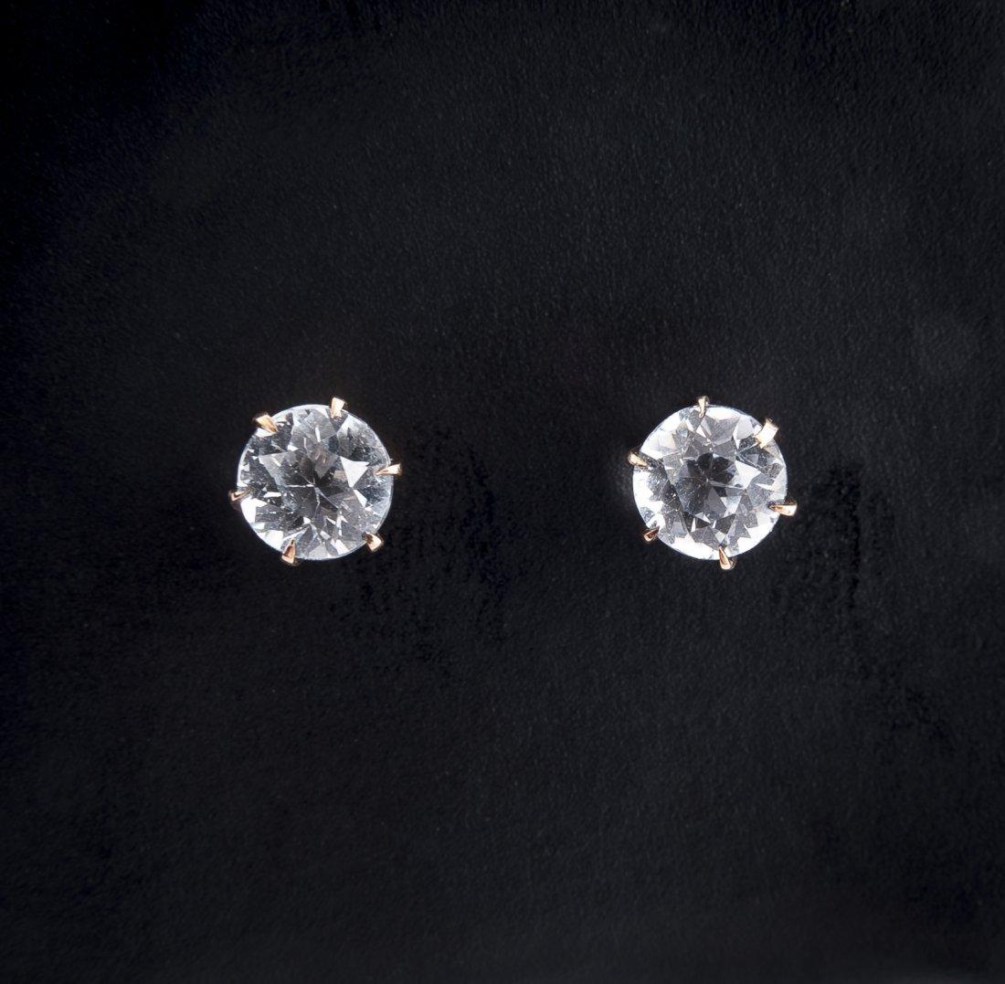 .70 CTW Diamond Stud Earrings & 14K Tie Pin - 2