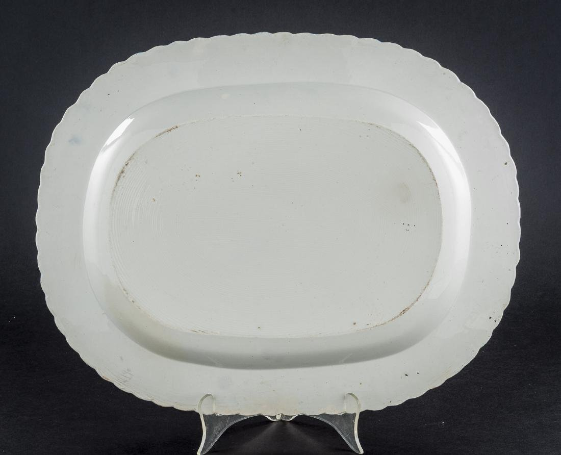 3 Feather Edge Pearlware Platters - 6