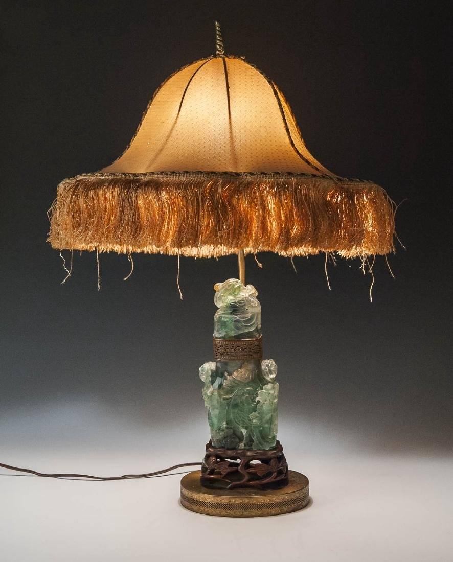 Chinese Jade Covered Urn - 3