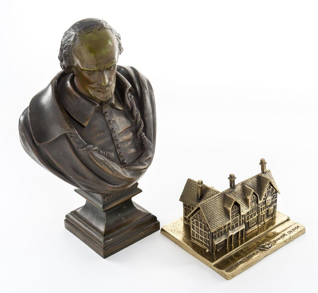 Shakespeare Bust & Inkwell