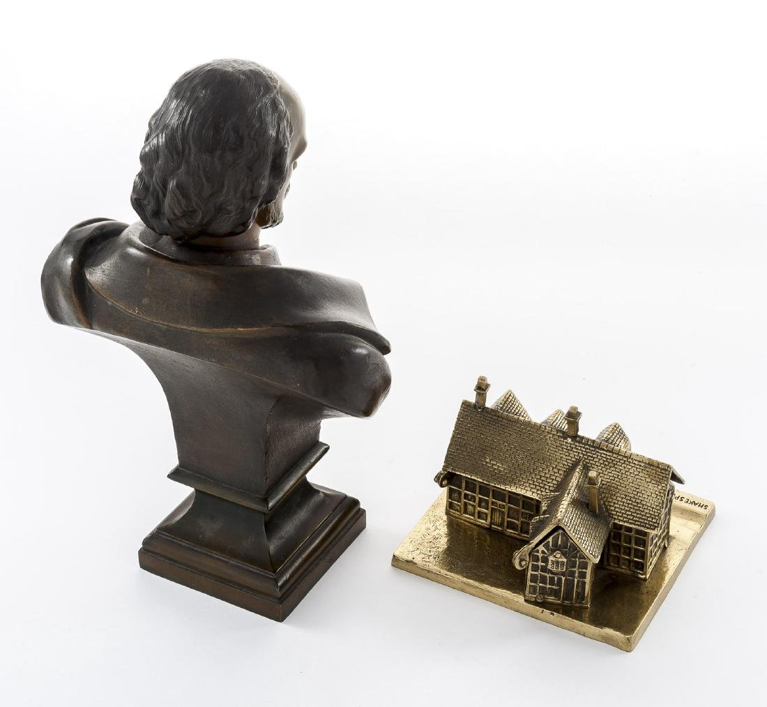 Shakespeare Bust & Inkwell - 2