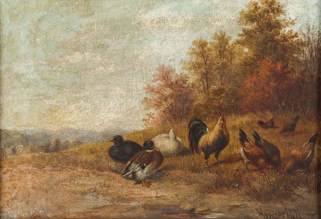 Howard Hill (New York/England, D. 1870)