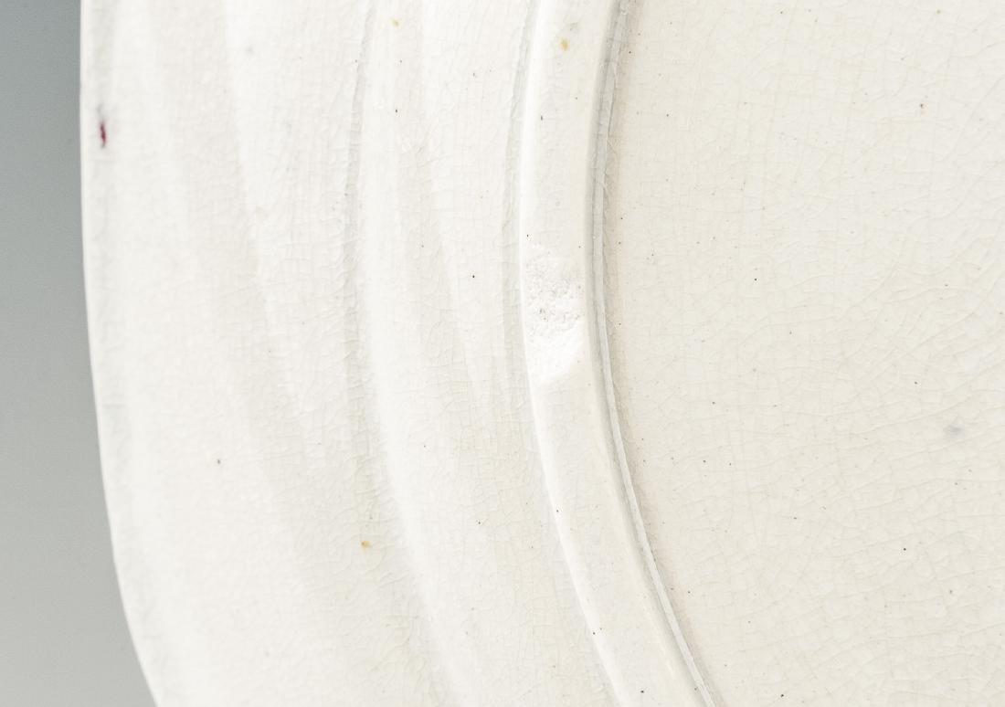 2 Pcs Spatterware Incl Lidded Sugar Bowl - 3