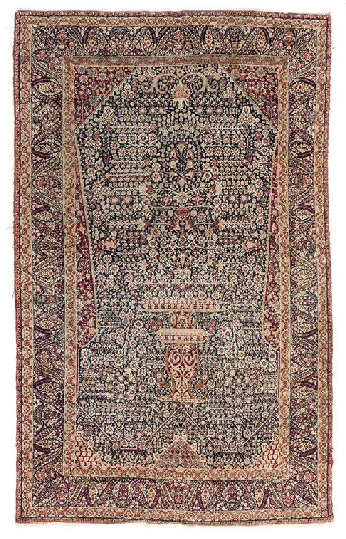 Antique Persian Kerman Prayer Rug