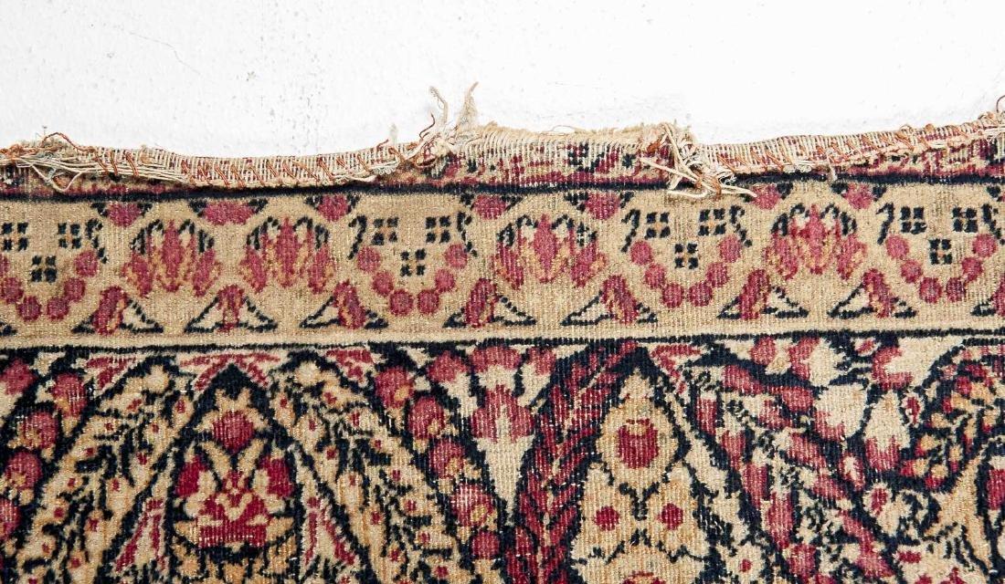 Antique Persian Kerman Prayer Rug - 4