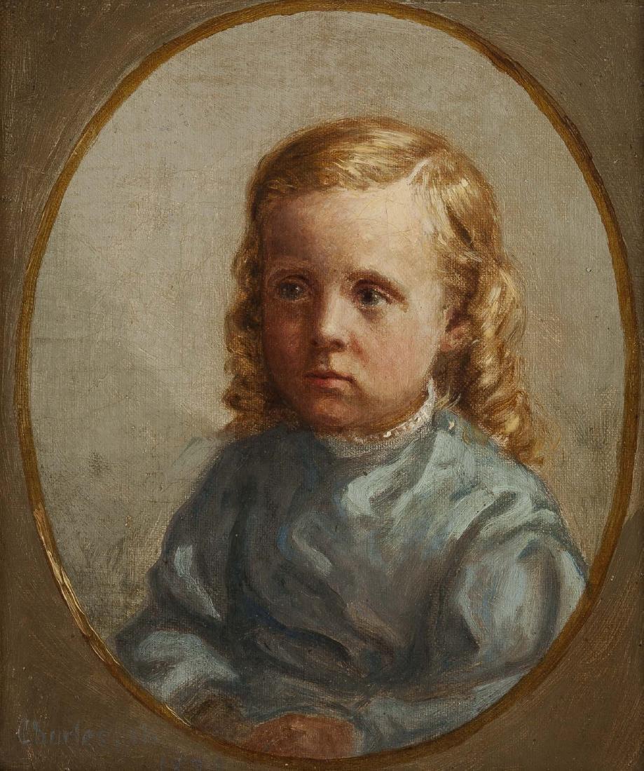 American School 19th Century Portrait