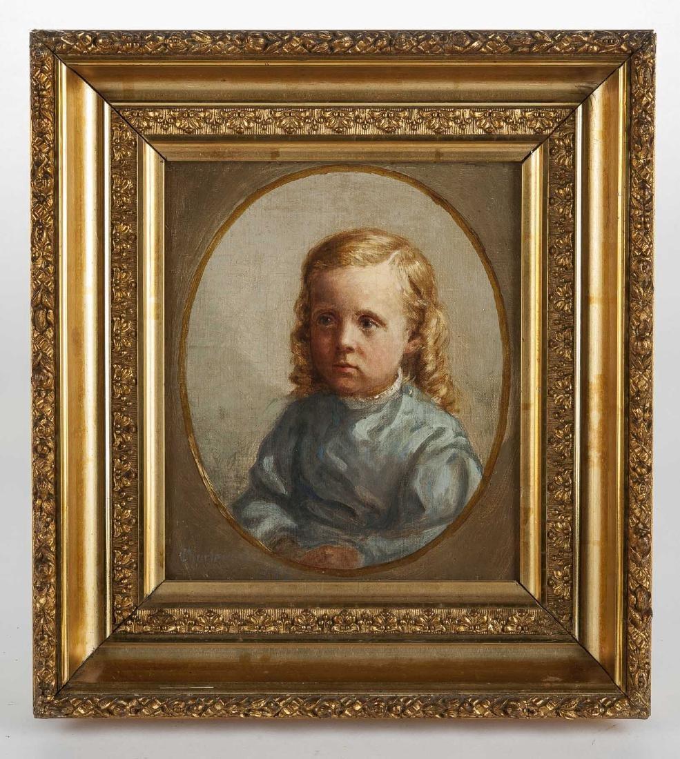 American School 19th Century Portrait - 2