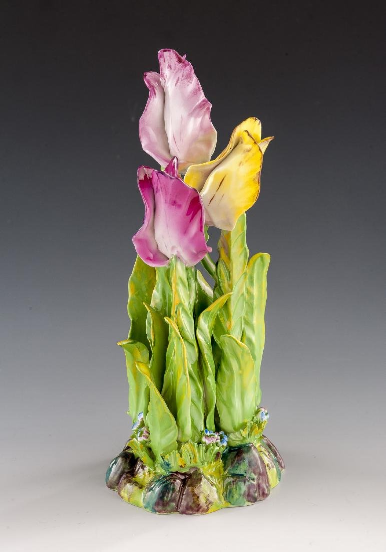 Sevres Tulip Figural Group