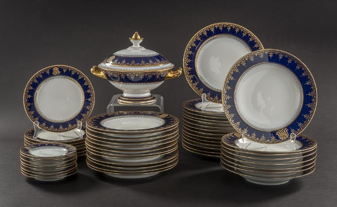 61 Pc Pirkenhammer Dinner Service Set
