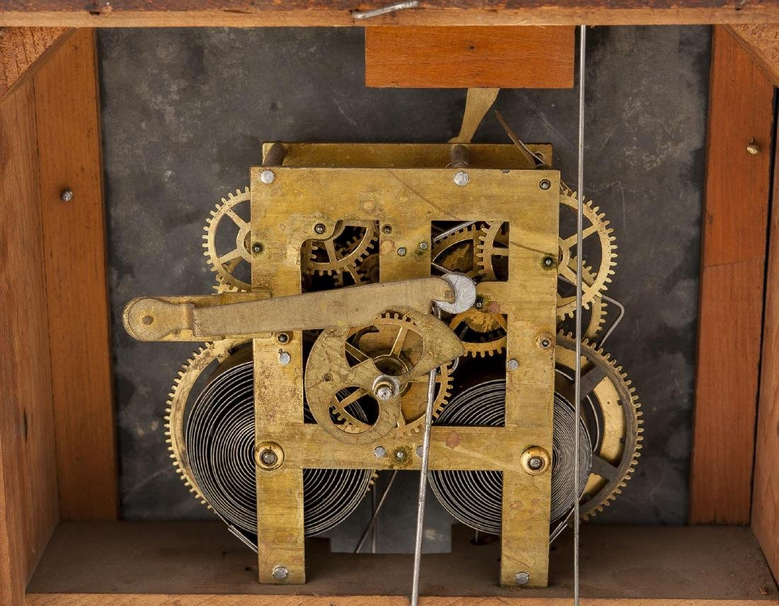 H.B. Horton Patent Ithaca Calendar Clock #10 - 7