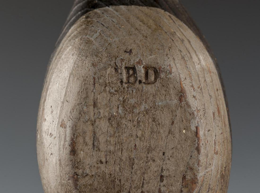 7 Back Bay Miniature Decoys Signed B.B.D. - 6