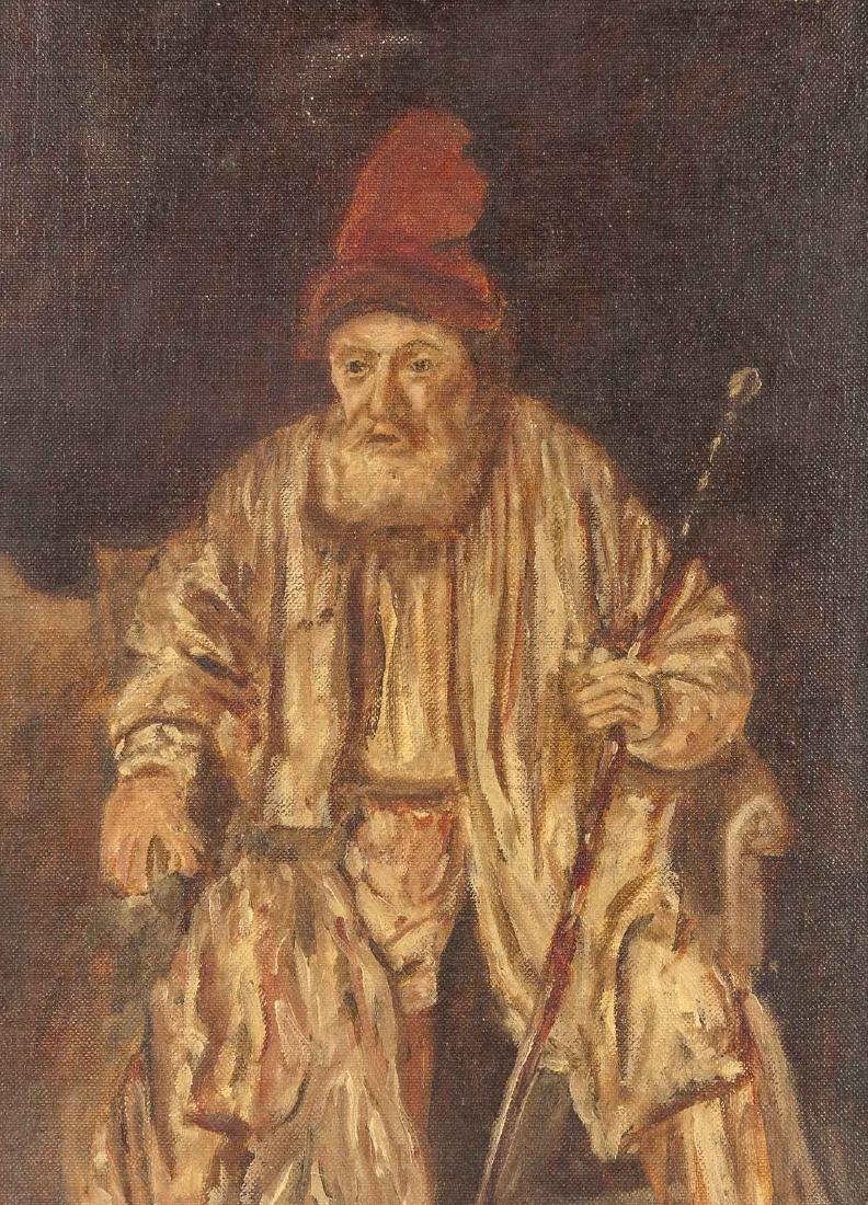 Portrait in the Manner of Rembrandt