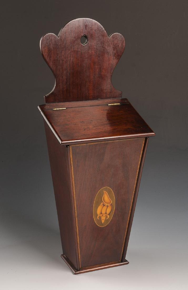 Georgian Inlaid Candle Box