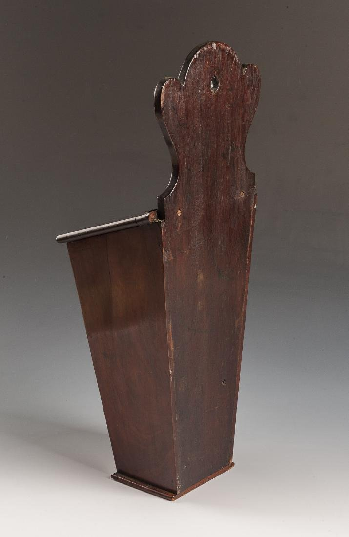 Georgian Inlaid Candle Box - 3