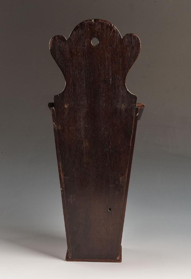 Georgian Inlaid Candle Box - 4