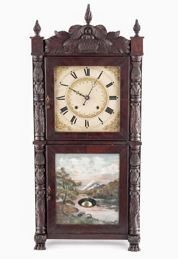 Henry Terry Eight Day Shelf Clock
