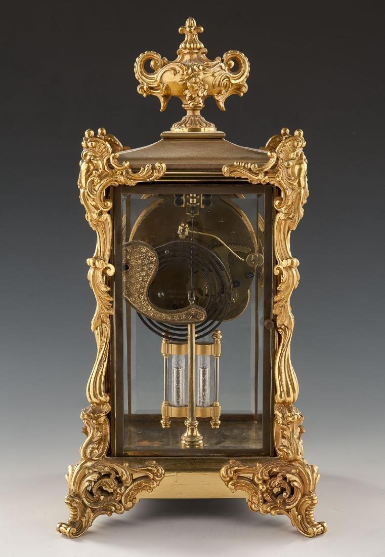 Ansonia Crystal Regulator Mantle Clock - 3