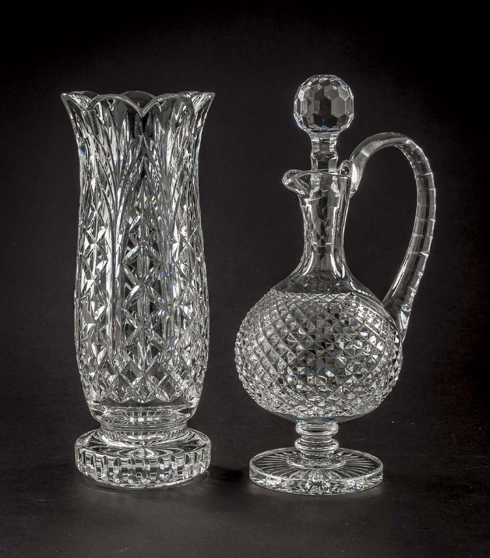 Waterford Master Cutter Collection Vase & Decanter