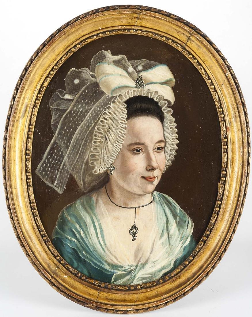 Continental School Portrait (19th Century) - 2