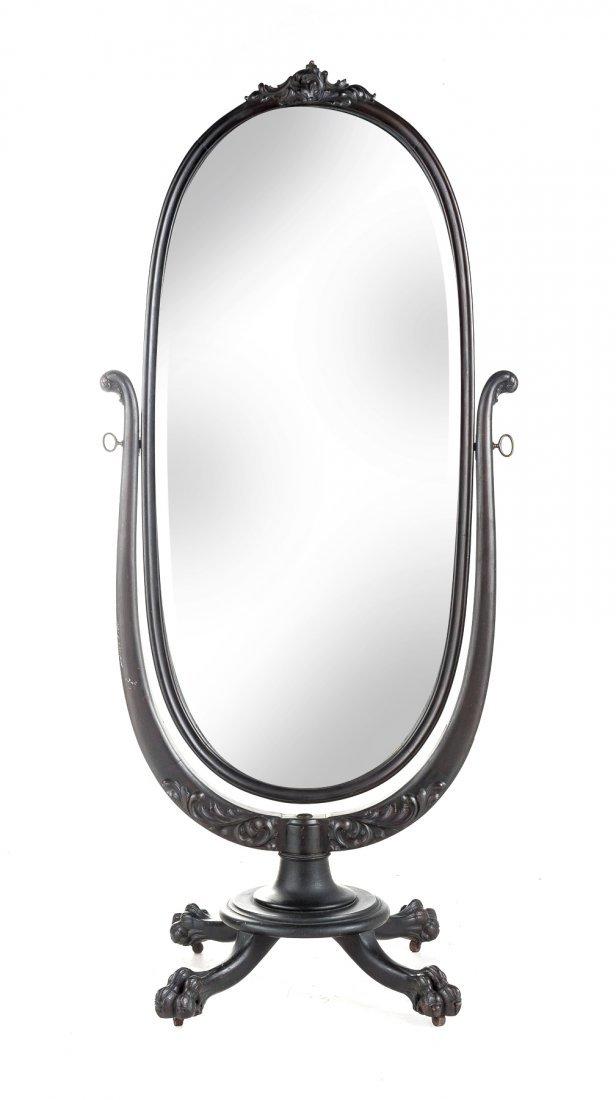 Colonial Revival Cheval Mirror