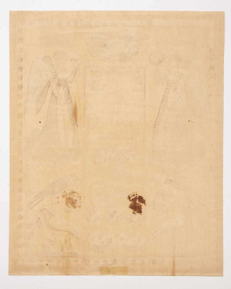 2 G.S. Peters Harrisburg, PA Printed Frakturs - 7